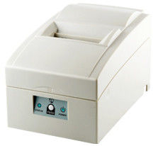 White Color 76mm Esc Dot Matrix Impact Receipt Printer With Auto Cutter