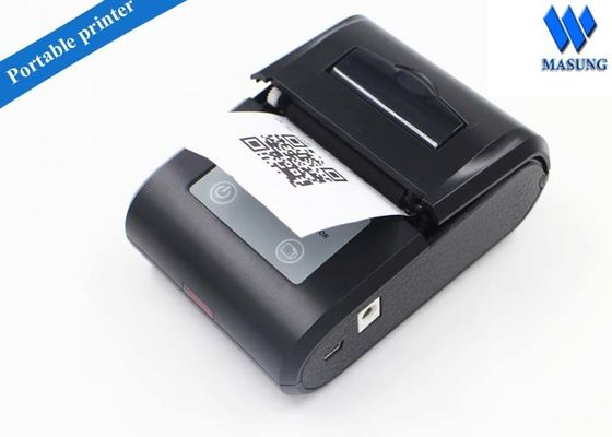 Çin Mini Portable Thermal Printers Thermal Barcode Printer For Retails Fabrika