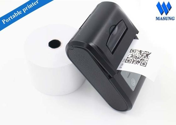 Çin 58mm Receipt Mobile Portable Thermal Printer 90mm / S In Full Power Fabrika